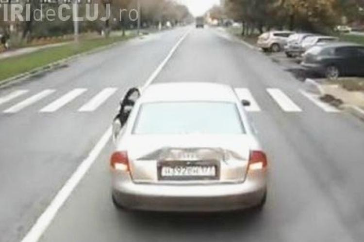CLIPUL ZILEI: Ce se întâmplă când enervezi un șofer de camion VIDEO