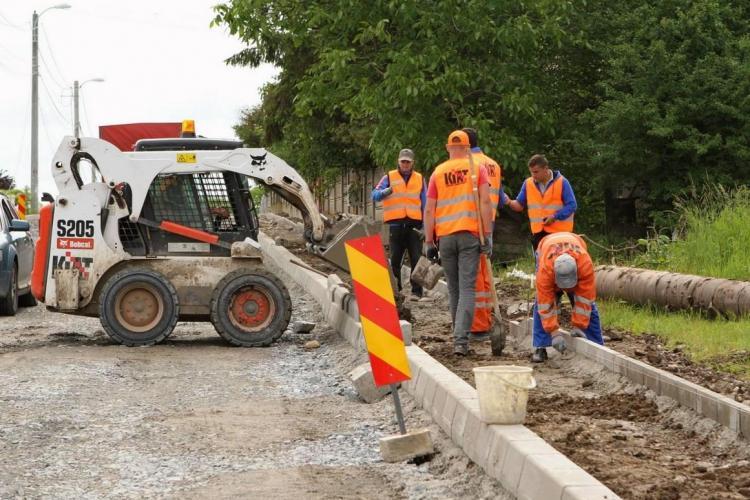 Ce străzi din Cluj-Napoca se asfaltează în luna august