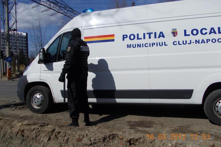 Razie în Mănăștur a Poliţiei locale. Au fost aplicate amenzi în valoare de 24.200 de lei