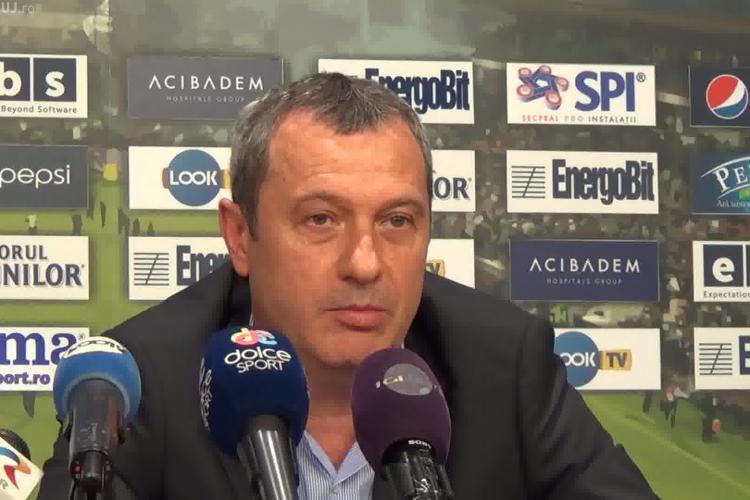 Rednic spune ADIO CFR Cluj: PLEC pe cale amiabilă. Ce spune despre Cadu? - VIDEO