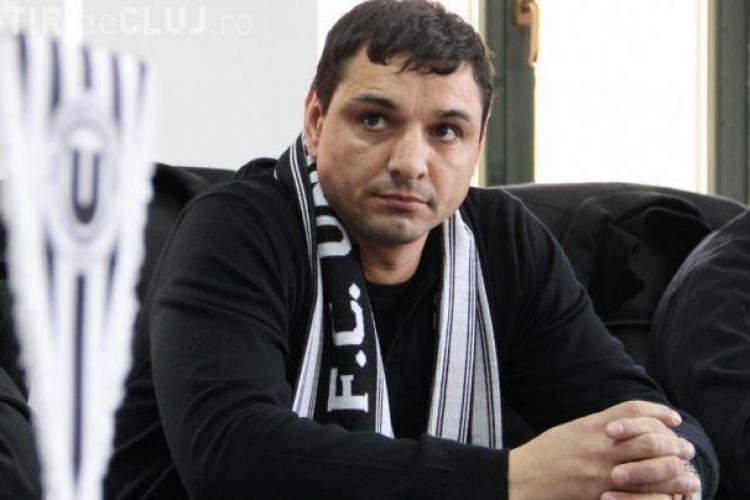 Suporterii U Cluj au cerut DEMISIA lui Ionel Ganea! Ce spune tehnicianul