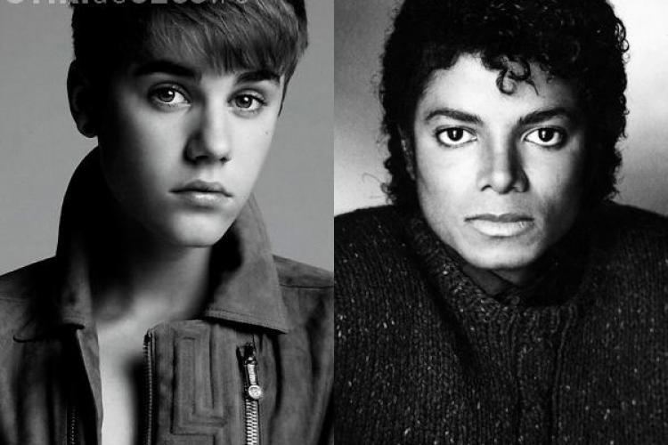 Colaborare inedită în lumea muzicală: Justin Bieber cântă cu Michael Jackson AUDIO