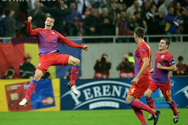 Primă de 1.000.000 de euro pentru Chiricheș să rămână la Steaua timp de 4 luni