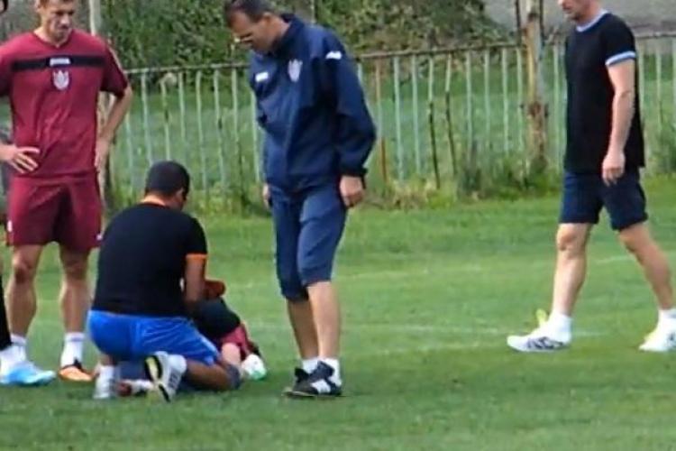 Sepsi aproape i-a rupt piciorul lui Felgueiras la antrenament - IMAGINI VIOLENTE