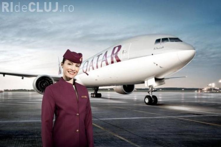 Qatar Airways angajează în România. VEZI condițiile