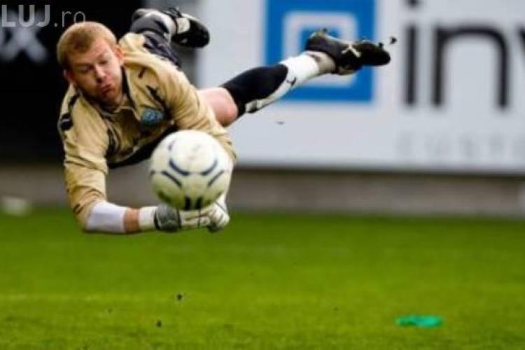U Cluj a transferat un portar din Danemarca