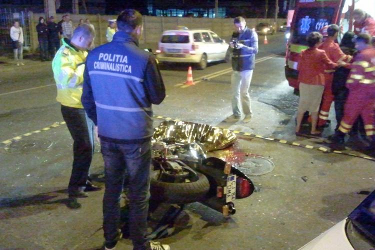 """Motociclistul mort pe Fabricii nu era echipat corespunzător: """"Avea mocasini în picioare..."""" - FOTO"""