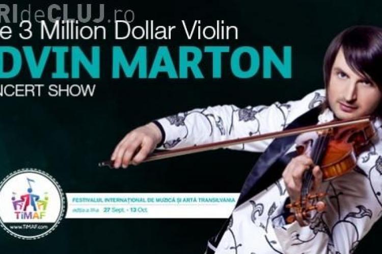 Știri de Cluj te trimite la concertul Edvin Marton. Vezi cum poți câștiga unul din cele 20 de bilete