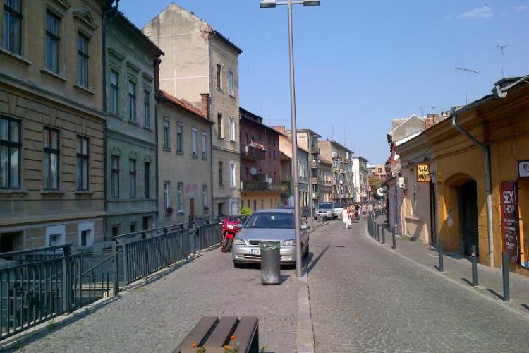Pietonalele Clujului sunt o mare parcare! Cazuri de pe Andrei Șaguna și din zona centrală - FOTO