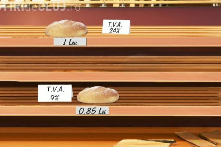 PSD Cluj laudă scăderea TVA - ului la pâine
