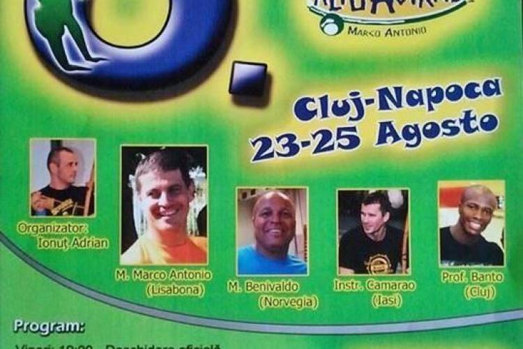 Festivalul Internațional de Capoeira are loc la Cluj-Napoca, în acest weekend