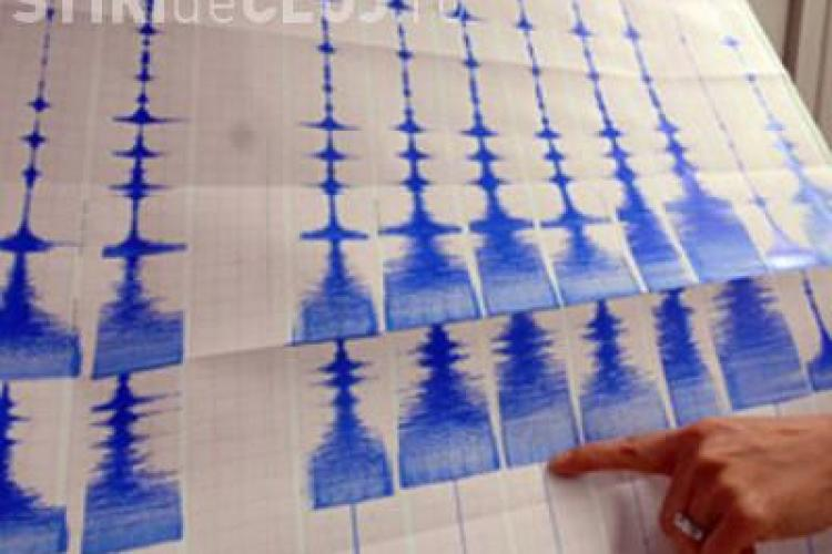 Cutremur de 4,8 grade pe scara Richter în Transilvania