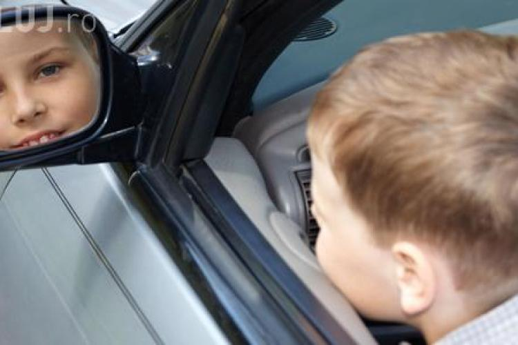 Minor la volan pe drumurile românești. Polițiștii au oprit un șofer în vârstă de 11 ani