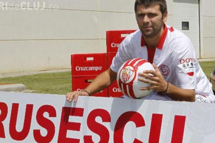 De ce nu joacă Raul Rusescu la Sevilla? Ce scrie presa spaniolă
