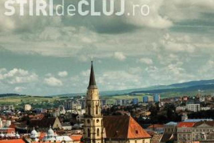 PROGNOZA METEO: Început de săptămână ploios la Cluj