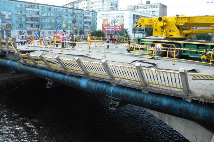 Boc: Podurile Traian și Garibaldi vor avea 4 benzi și piste pentru bicicliști