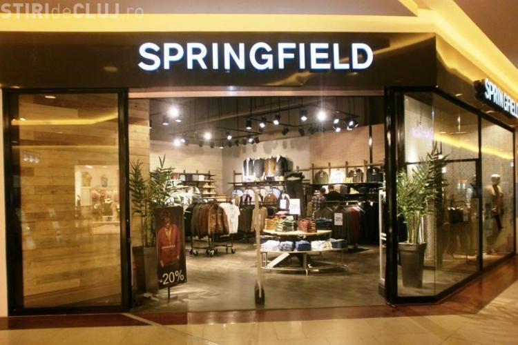 """Cel de-al doilea magazin """"SPRINGFIELD"""" din România s-a deschis la Iulius Mall Cluj(P)"""