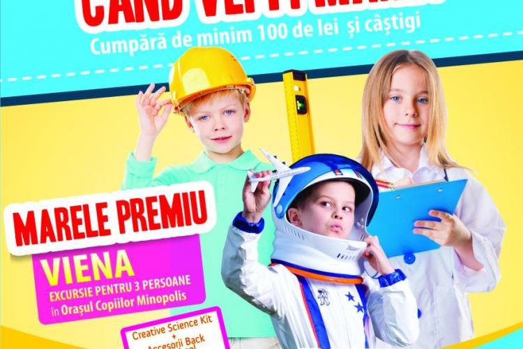 """Iulius Mall Cluj te trimite în orășelul copiilor """"MINOPOLIS"""", din Viena (P)"""