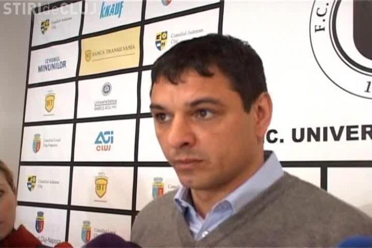 De ce EXCLUDE Ionel Ganea jucătorii de la U Cluj și de ce nu DEMISIONEAZĂ cu toate că jocul nu merge