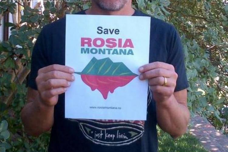 Un star de la Hollywood militează pentru salvarea Roșia Montană FOTO