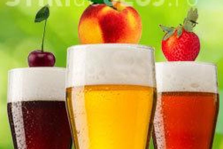 Îți place berea cu fructe? Vezi ce conține cu adevărat