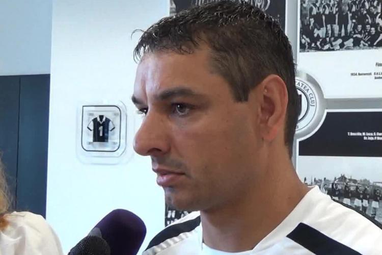 Ce a declarat, cu zâmbetul pe buze, Ionel Ganea la finalul U Cluj - CFR Cluj
