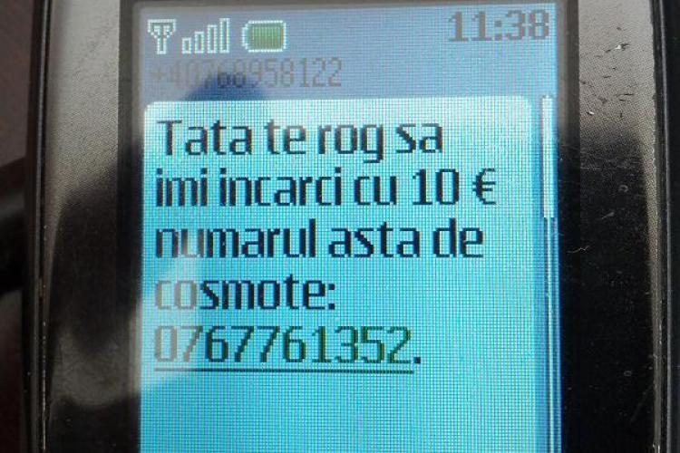 Clujenii primesc SMS -uri, care anunță o nouă ȚEAPĂ națională. Un bărbat a sunat la 112 pentru a reclama totul. Ce a urmat l-a DEZGUSTAT