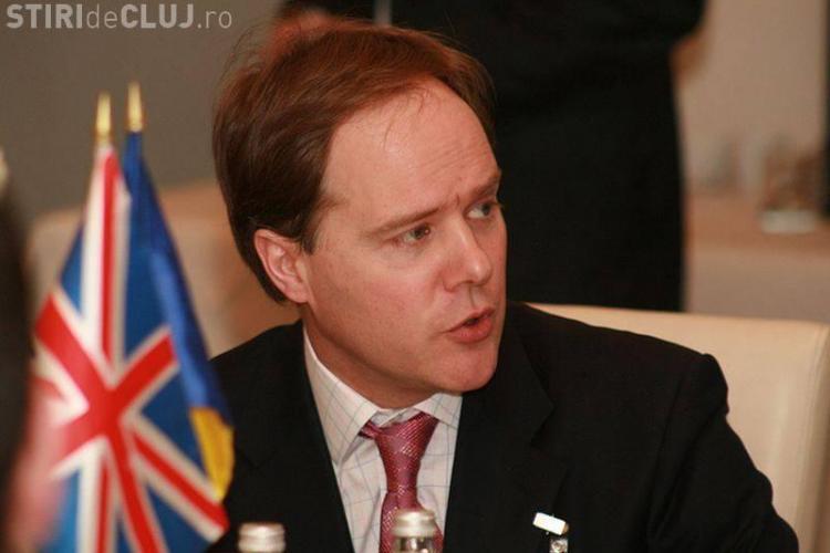 Ambasadorul Marii Britanii la Cluj: Românii sunt apreciați în Anglia, pentru că muncesc bine și plătesc taxele