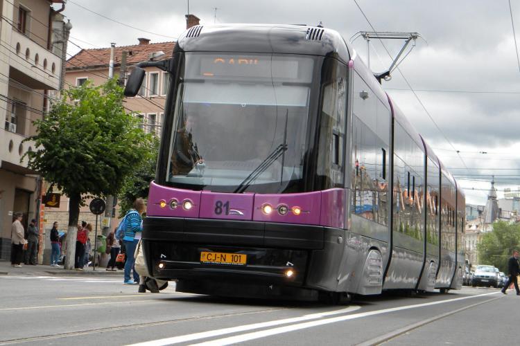 Tramvaiele vor avea linie proprie în Cluj-Napoca, delimitată de traficul AUTO. Cum vi se pare inițiativa?