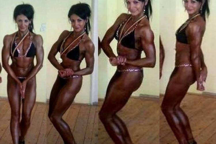 O clujeancă este campioană națională la bodyfitness. A fost 20 de ani balerină și abia acum a atins GLORIA - FOTO