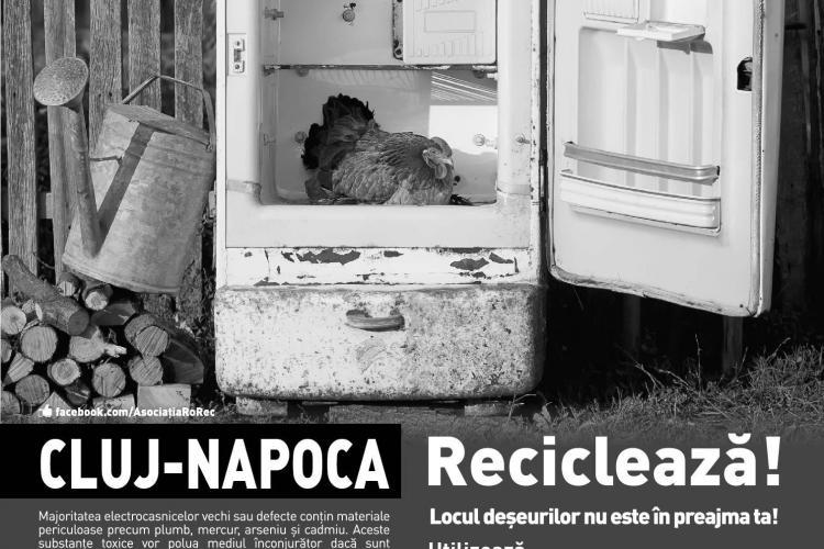 Campanie de colectare DEEE de la domiciliu la Cluj în perioada 7-12 octombrie
