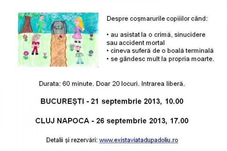 Asociația Există viață după doliu își reia întâlnirile publice de la Cluj-Napoca