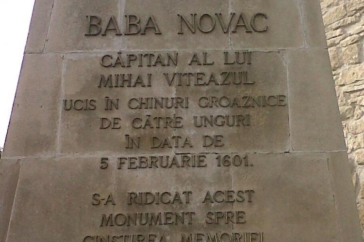Noua Dreapta Cluj cere pedepsirea celor care au vandalizat statuia lui Baba Novac