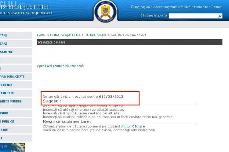 Cum îl ajută Curtea de Apel Cluj pe chestorul Ioan Păcurar, în procesul privind confiscarea averii. I-a ascuns dosarul!