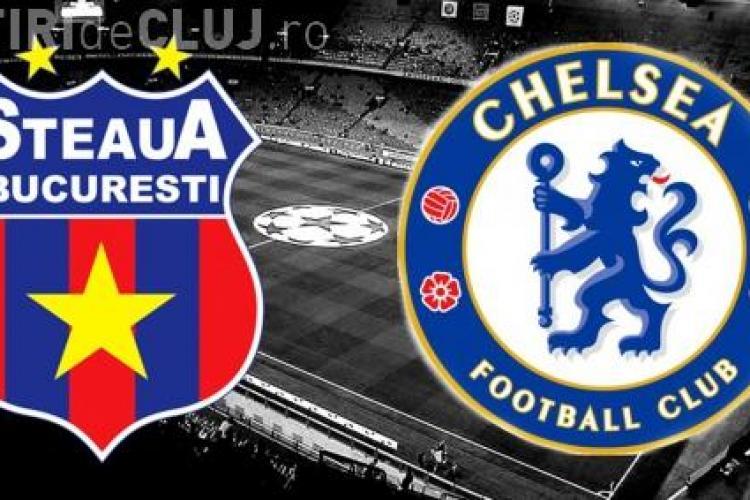 Steaua - Chelsea 0-4 - REZUMAT VIDEO