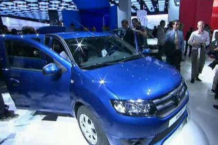 Dacia scoate un nou Logan? Imagini spion cu un model misterios Dacia FOTO
