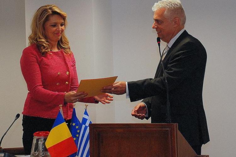 Avocată din Cluj, numită Consul Onorific al Romaniei in Regiunea Greciei Vestice - FOTO
