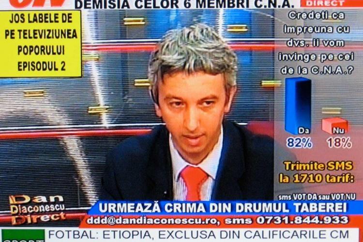 Dan Diaconescu redeschide OTV -ul. Emite de la Vatican