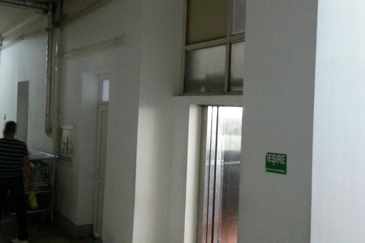 """""""Vine Maiestatea sa, Lucan!"""" - Pacienții nu au voie să urce cu el în lift - FOTO"""