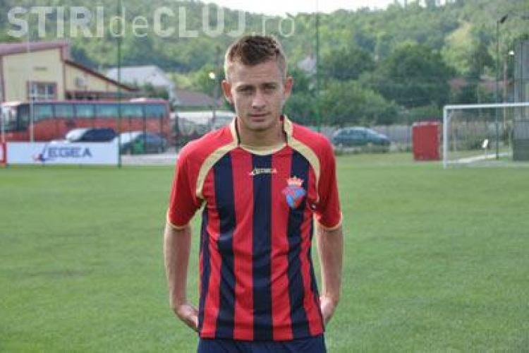Ion Jardan este în tratative cu CFR Cluj. Jucătorul este căpitanul naţionalei Republicii Modova U21