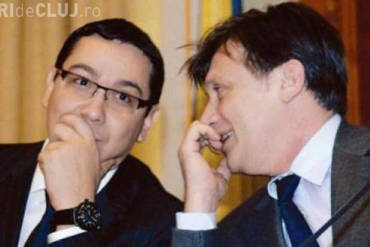 """Ponta și Antonescu sunt ca doi COPII. """"M-am ÎMPĂCAT cu Antonescu"""" - Cine are de PIERDUT?"""