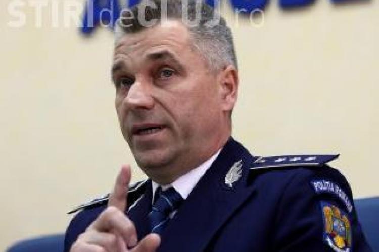 Șeful Poliției Cluj, Ioan Păcurar, iese la PENSIE la 53 de ani