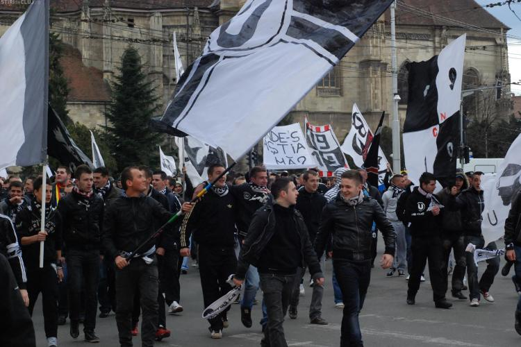 U Cluj a primit o nouă amendă din cauza fanilor
