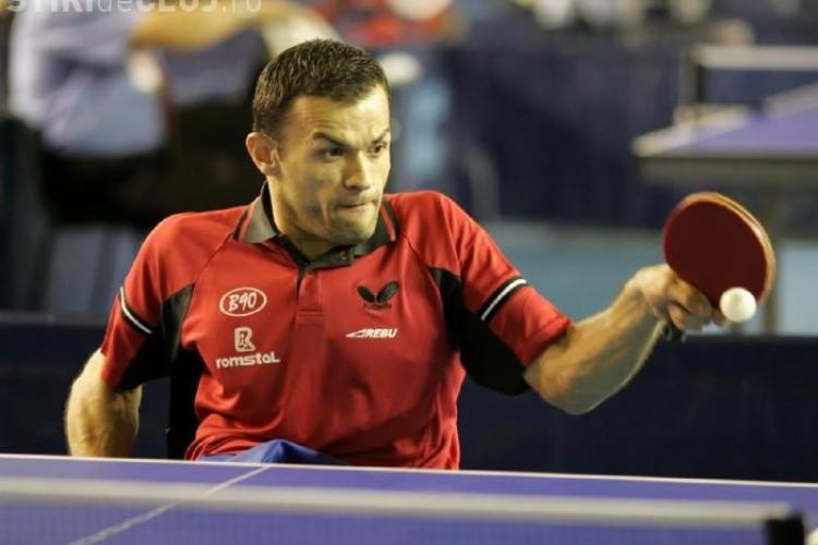 Clujeanul Dacian Makszin, locul cinci la Campionatul European Paralimpic de tenis de masă