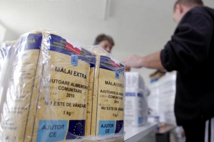 Peste 1.200 de tone de ajutoare alimentare trimise în județul Cluj