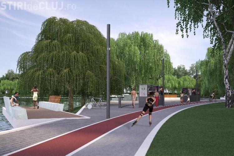 Parcul de lângă Iulius Mall, finalizat în curând. Cum va fi amenajat?