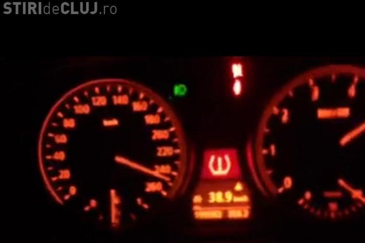 Cocalarul din Piața Cipariu merge cu 250 de km/h și se laudă pe Facebook - VIDEO