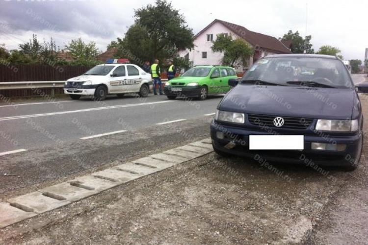 Copil de 10 ani rănit într-un accident rutier la Cuzdrioara