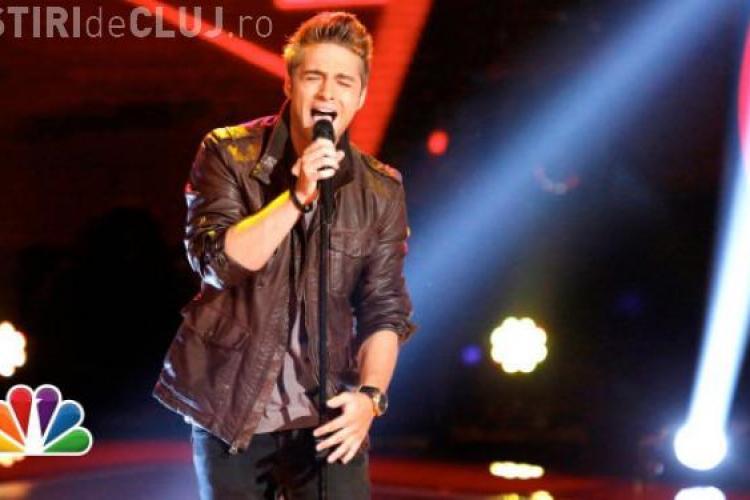 """Un român participă la """"The Voice"""" în SUA. Vezi cum s-a descurcat VIDEO"""