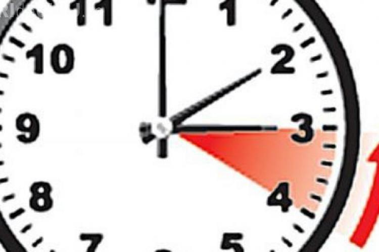 ORA DE IARNĂ în România: Ceasurile trebuie potrivite în noaptea de sâmbătă spre duminică